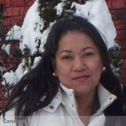 Canadian Nanny Provider Maritess A's Profile Picture