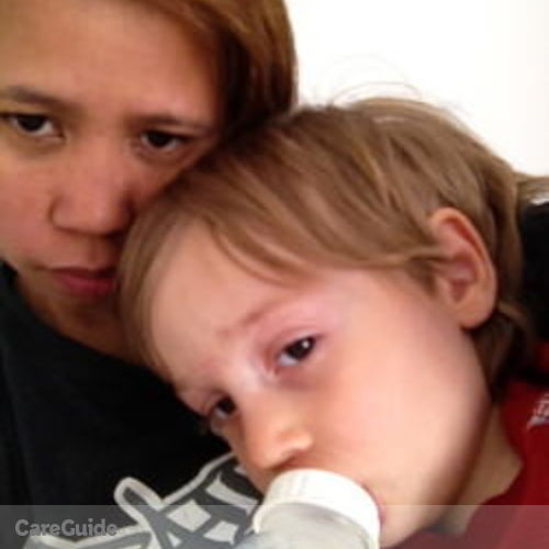 Canadian Nanny Provider Arcellie Briones's Profile Picture