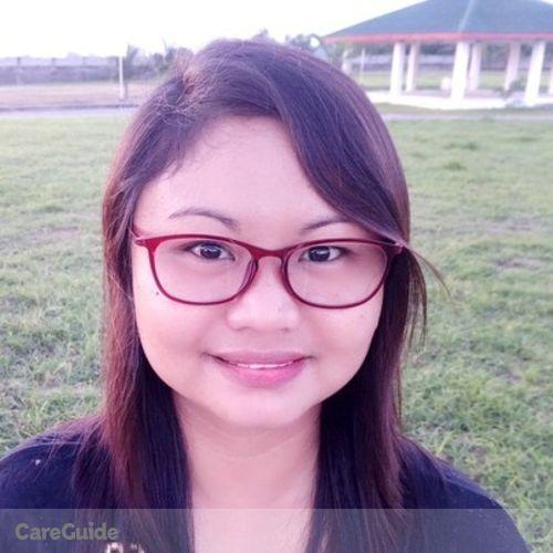 Canadian Nanny Provider Joanna Mae Uy's Profile Picture
