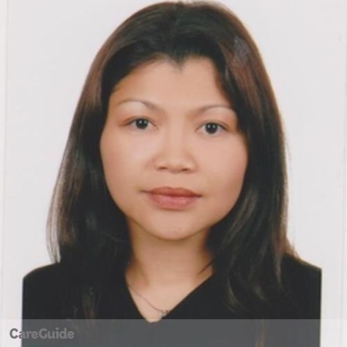 Canadian Nanny Provider Jocelyn Resulga's Profile Picture