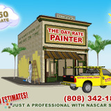 Painter in Honolulu