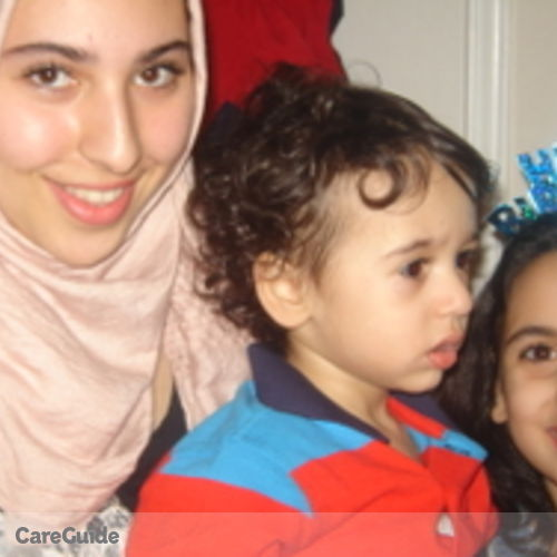 Canadian Nanny Provider Mariam Aly's Profile Picture