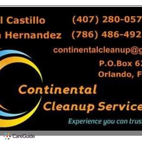 Housekeeper Provider Angel Castillo's Profile Picture