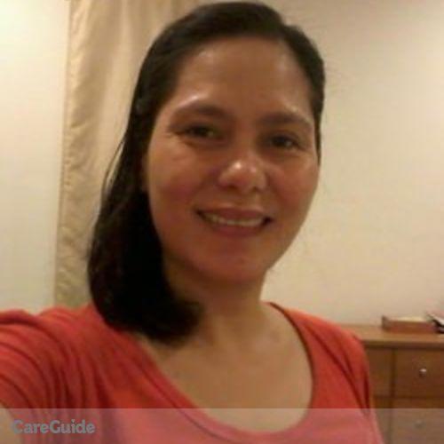 Canadian Nanny Provider Rowena Arenajo's Profile Picture