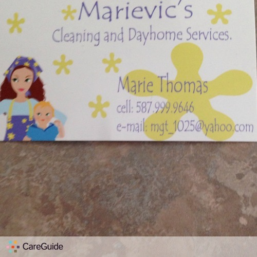 Housekeeper Provider Marievic Thomas's Profile Picture