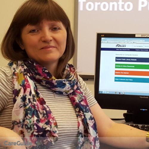 Canadian Nanny Provider Nadezhda Kolosova's Profile Picture