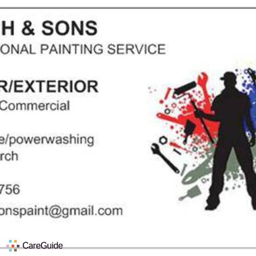 Painter Provider Johnny Church's Profile Picture