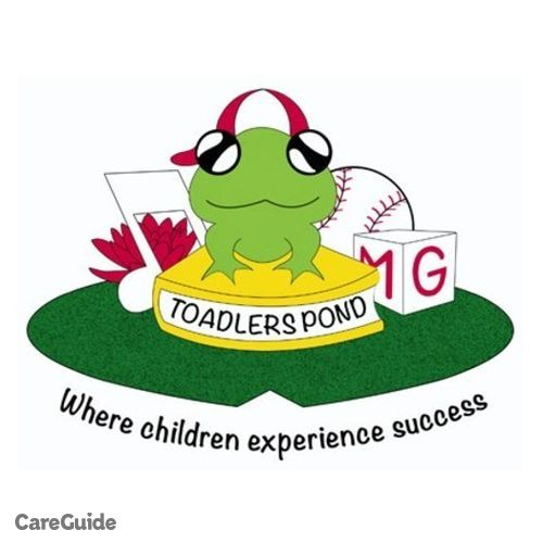 Child Care Provider Toadlers Pond Daycare's Profile Picture