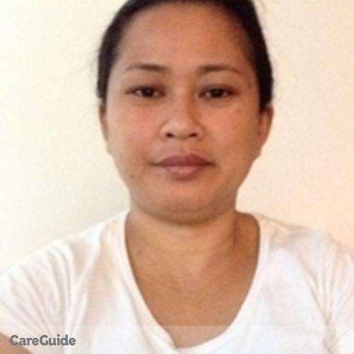 Canadian Nanny Provider Clarissa Borgonia's Profile Picture