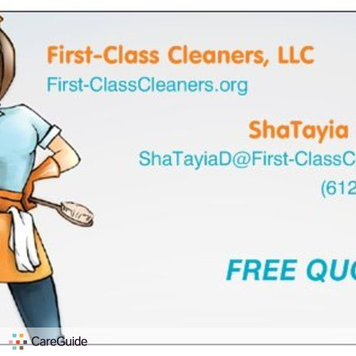 Housekeeper Provider ShaTayia Diamond's Profile Picture