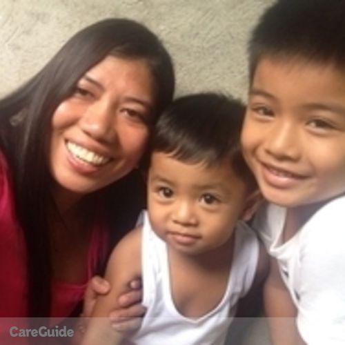 Canadian Nanny Provider Maxima Cagurungan's Profile Picture