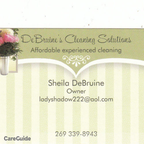 Housekeeper Provider Sheila D's Profile Picture