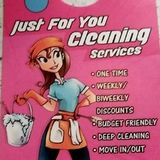 Let us get it done the right way!Just For You Cleaning ServicesMakes it's easier on YOU!