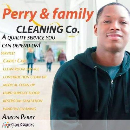 Housekeeper Provider Aaron Perry's Profile Picture