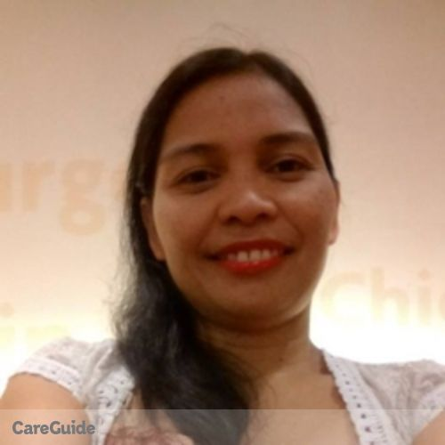 Canadian Nanny Provider Luz Antipala's Profile Picture