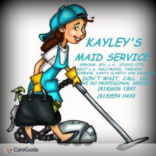 Housekeeper Provider Kayleys Maid's Profile Picture