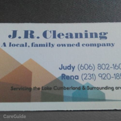 Housekeeper Provider J.R. Cleaning's Profile Picture