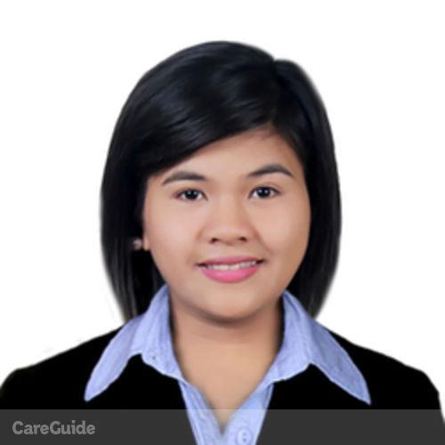 Canadian Nanny Provider Kina Alyssa Bajada's Profile Picture
