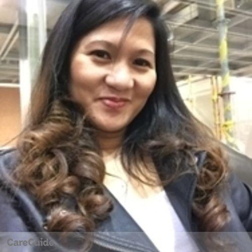 Canadian Nanny Provider Gloria Tenorio's Profile Picture