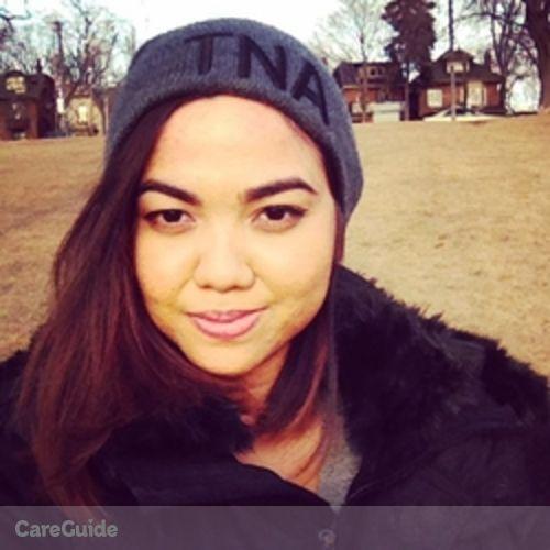 Canadian Nanny Provider Shikaina Jacob's Profile Picture