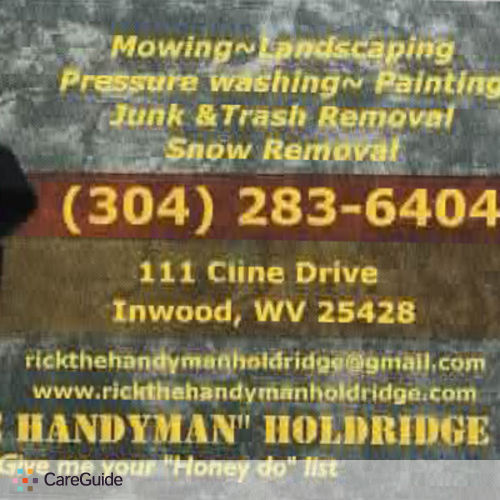 Handyman Provider Richard Holdridge's Profile Picture