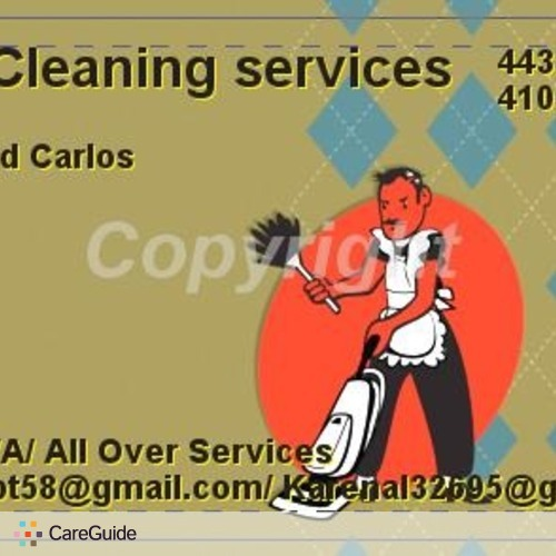 Housekeeper Provider Carlos's Profile Picture