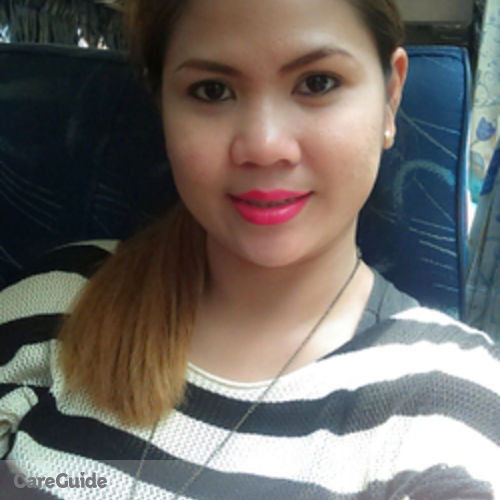 Canadian Nanny Provider Jeremie Mae Rama's Profile Picture