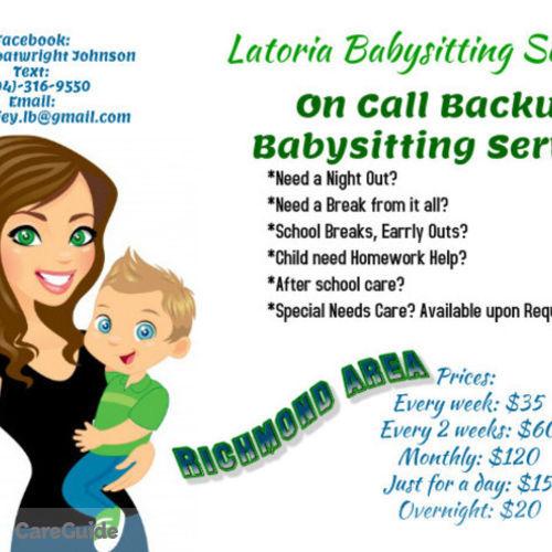 Child Care Provider Latoria Boatwright's Profile Picture
