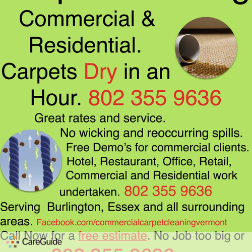 Housekeeper Provider Jarrod Carpet Cleaning's Profile Picture