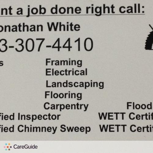 Handyman Provider Jonathan White's Profile Picture