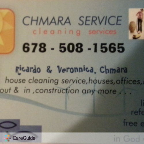 Housekeeper Provider Ricardo Chmara's Profile Picture