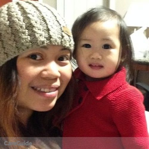 Canadian Nanny Provider Ruby Sumampong's Profile Picture
