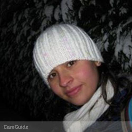 Canadian Nanny Provider Andrea Daza Jimenez's Profile Picture