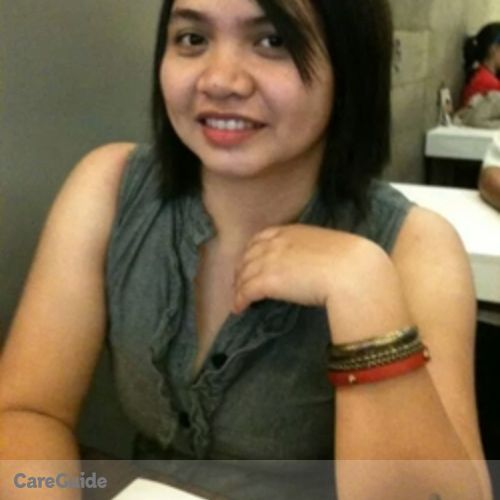 Canadian Nanny Provider Charity Mae Iluminada Lazo's Profile Picture