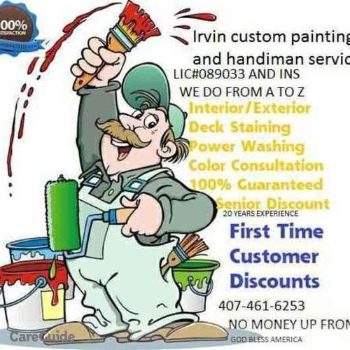 Painter Provider Irvin V's Profile Picture