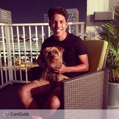 Pet Care Provider Alex Moreno's Profile Picture