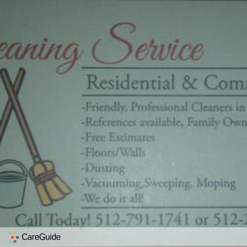 Housekeeper Provider Residential & comercial's Profile Picture