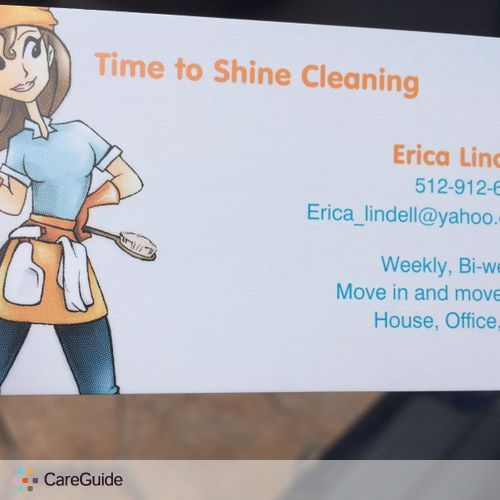 Housekeeper Provider Erica Lindell's Profile Picture