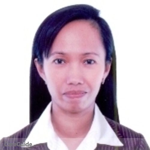 Canadian Nanny Provider Rowena Reyes's Profile Picture