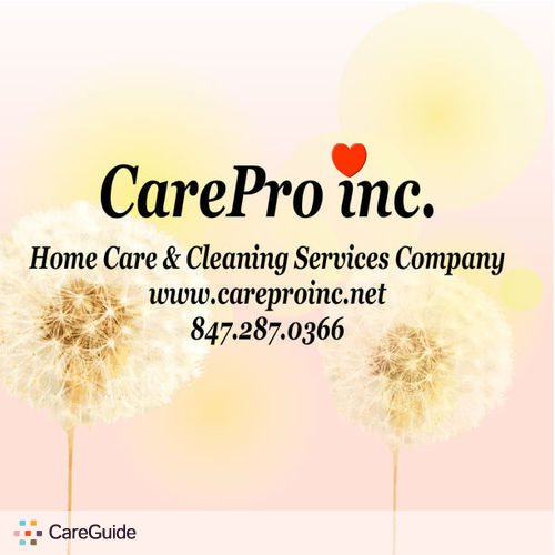 Housekeeper Provider CarePro Inc's Profile Picture