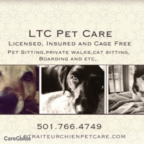 Pet Care Provider Ltc Pet Care's Profile Picture