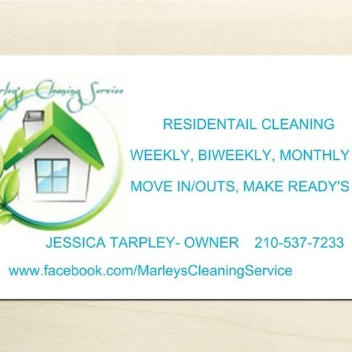Housekeeper Provider Marley's Cleaning and L's Profile Picture