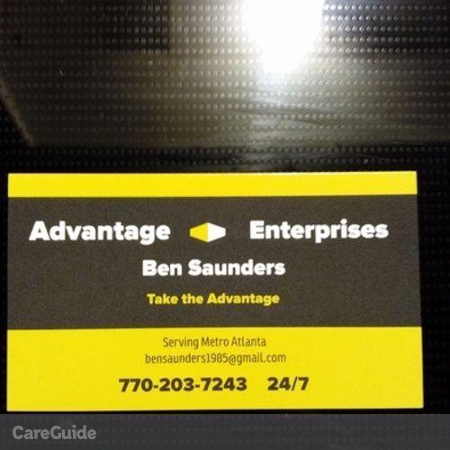Handyman Provider Ben Saunders's Profile Picture