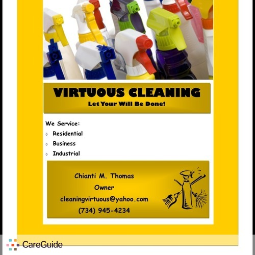 Housekeeper Provider Virtuous Cleaning's Profile Picture