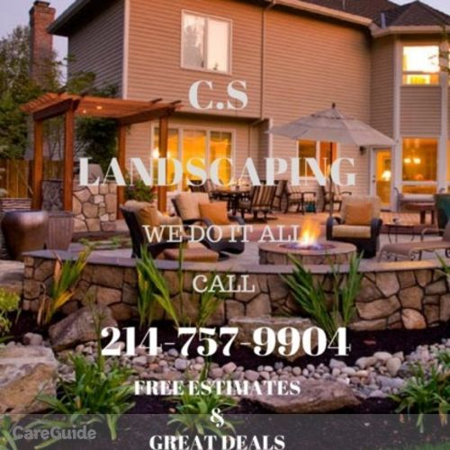 If U Need A Great Cheap Landscaper Get C.S Landscaping Now Plus When U Text Or Call Say Lawn For 10% Discount
