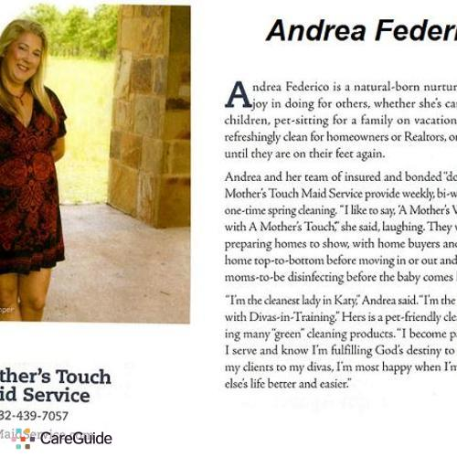 Housekeeper Provider Andrea Federico's Profile Picture