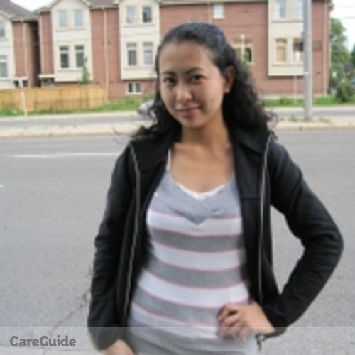 Canadian Nanny Provider Maria Charisse Acosta-Leonen's Profile Picture