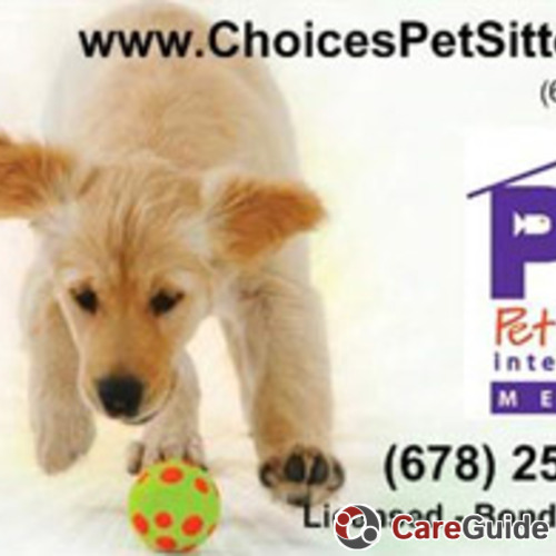 Pet Care Provider Choices Pet Sitters's Profile Picture