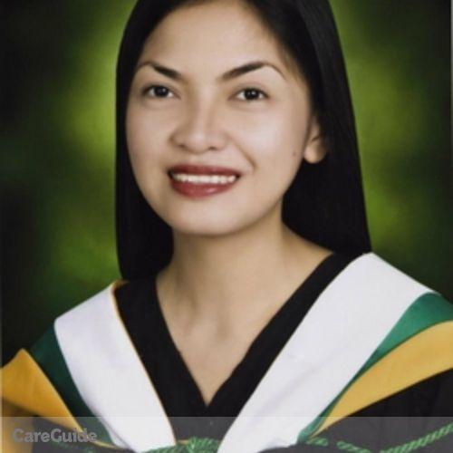 Canadian Nanny Provider Kaycelene Rodah Ucab's Profile Picture
