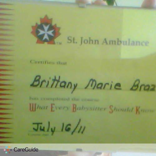 Child Care Provider Brittany Brazil's Profile Picture